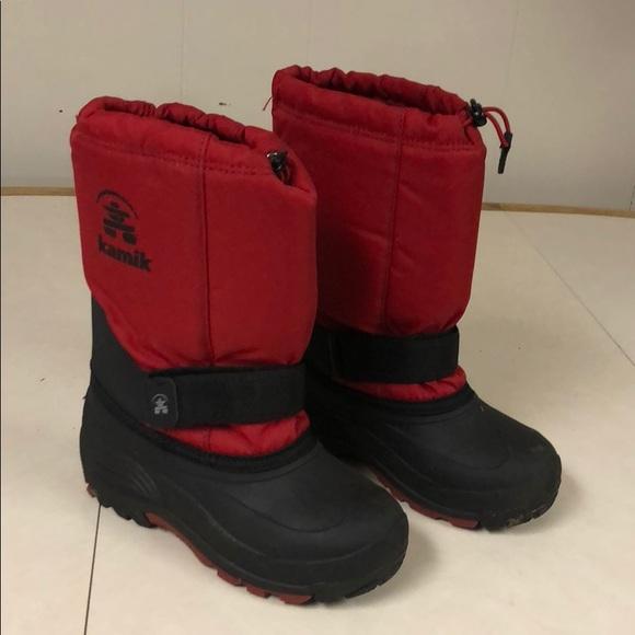 b29da17f7ec6 Kamik Other - Kamik boys size 2 winter boots
